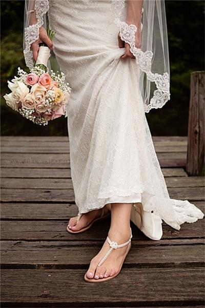 Schuhe für Braut