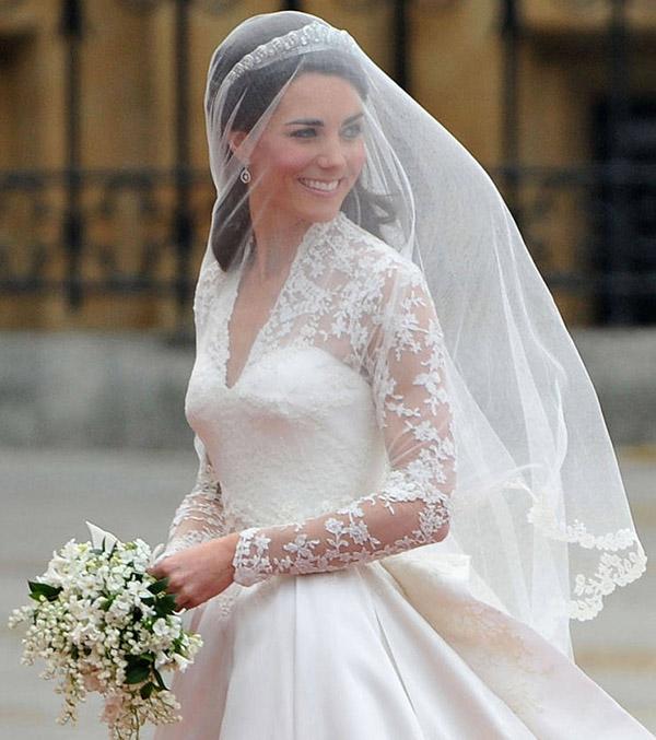 Kate Middleton's Hochzeitskleid