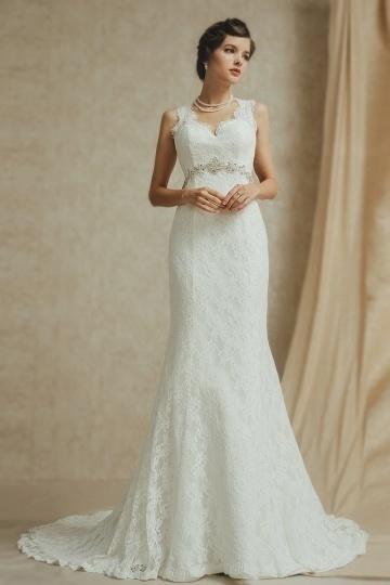 Elegantes Brautkleid 2015