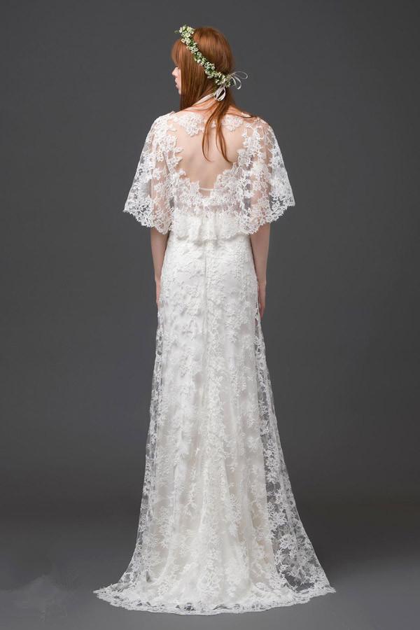 Schönes langes Brautkleider
