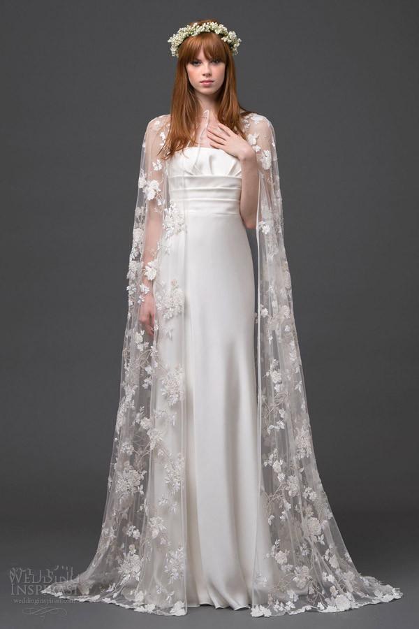 Elegantes langes Brautmode