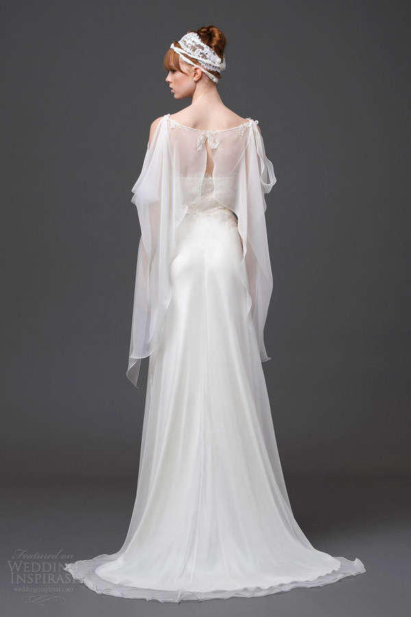 Elegantes langes Hochzeitsmode