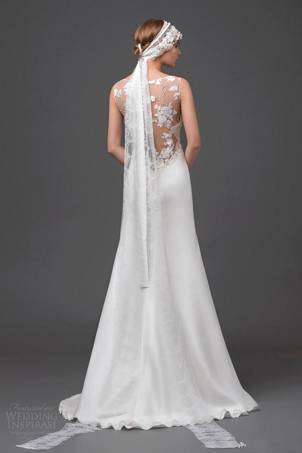 Langes schönes Brautkleider