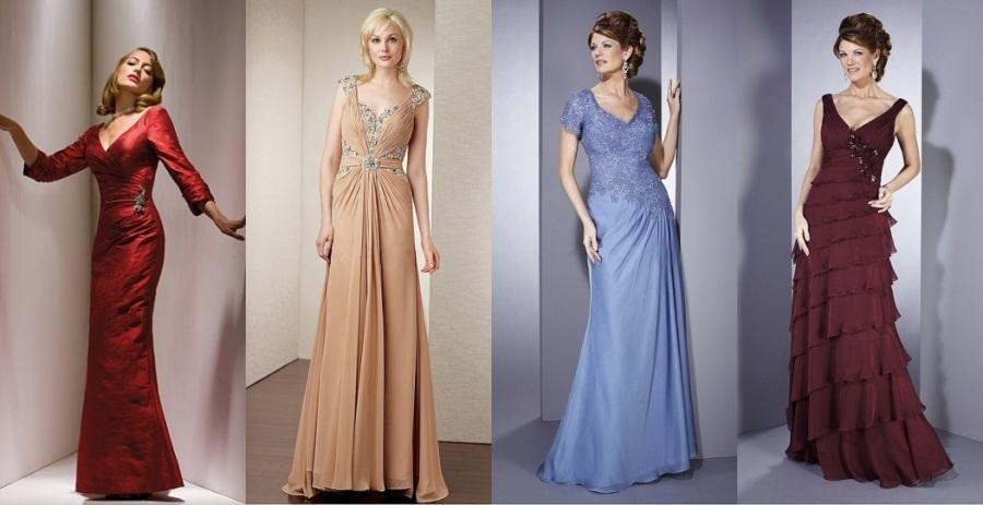Schöne Brautmutterkleider 2015 Online