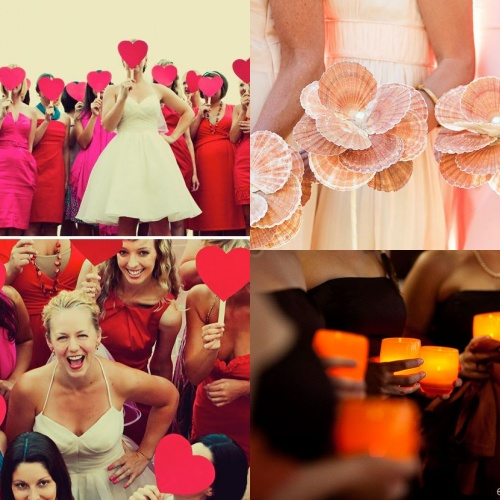 Blumenstrauß für Brautjungfer