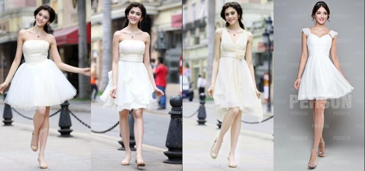 Elegante Kurze Kleider für Damen