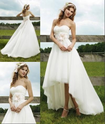 Elegante Brautkleider für Schwangere