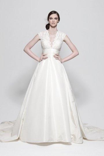 Schönes Elfenbein Brautkleider Online