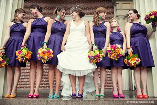 mix-and-match-bridesmaids