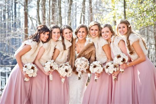 southern-weddings-winter-bridesmaids