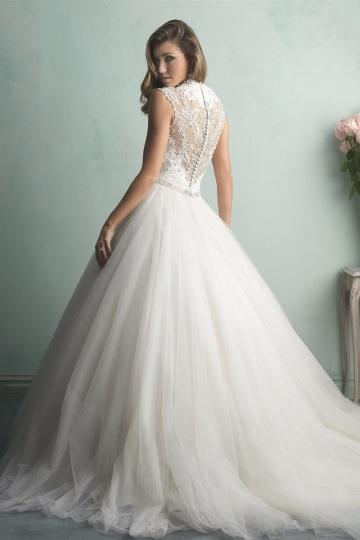 Prinzessin Stil Ivory Brautkleider-Persunkleid.de