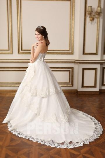 Ivory Prinzessin Brautkleider-PERSUNKLEID