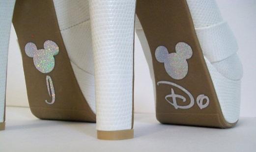 Brautschuhe-Disney