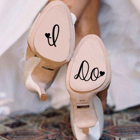 Brautschuhen