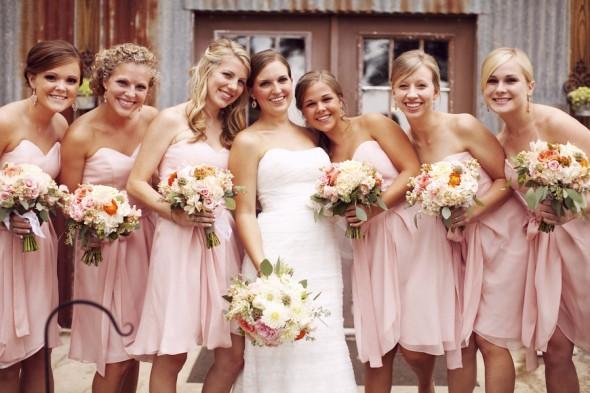 Brautjungfernkleider