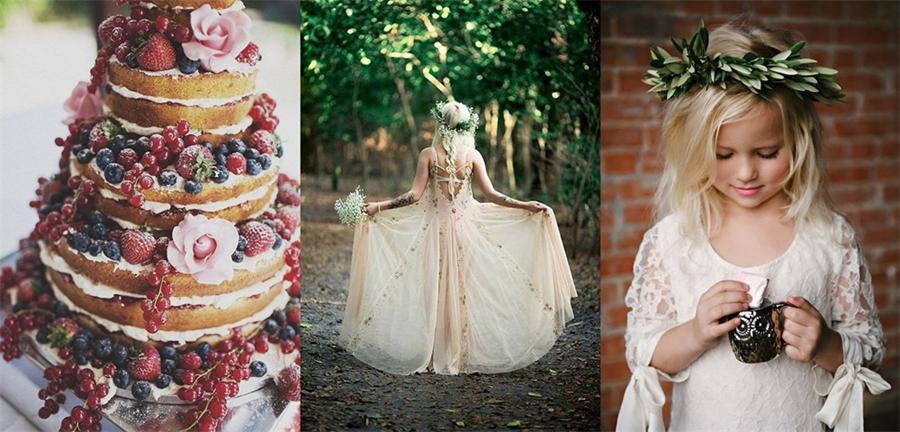Bohemien-Thema-Hochzeit