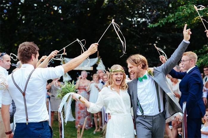 Garten-Hochzeit-Thema