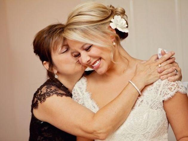 Hochzeit-Mutter