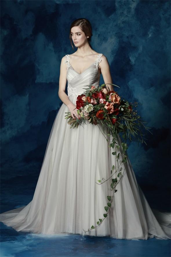 A-Linie-Tüll-Brautkleid